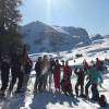 Gruppe im Schnee!