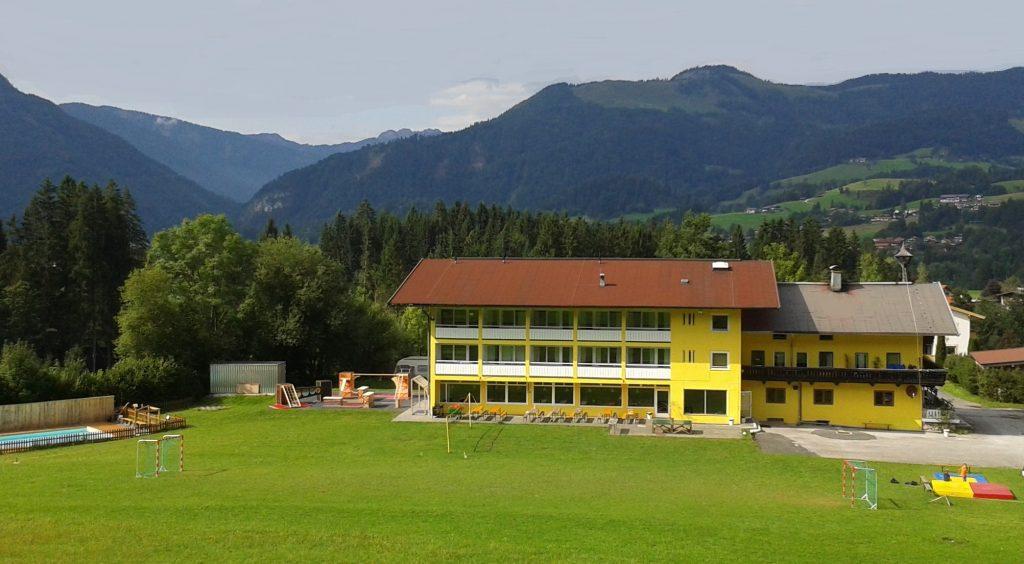 Außenansicht Sportgästehaus Unterberg