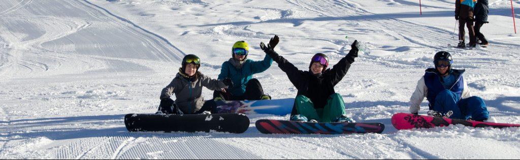 Schönfeld Innerkremms Jugendreise Snowboard