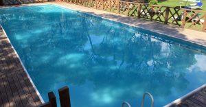 Pool ohne Personen